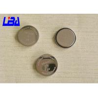 China Li-MnO2 CR2025  Coin Cell Battery , Rechargeable 3v Lithium Battery Silver Color wholesale