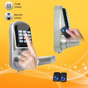 China High Sensitivity Smart Digital Door Lock , Remote Electronic Door Locks For Homes wholesale