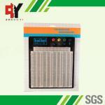 China Clear Plastic Transparent Breadboard Solderless wholesale