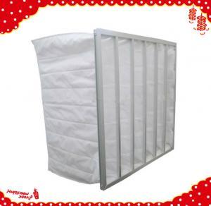 China 595x595x600mm F5 F6 F7 F8 synthetic fiber multi pocket filters wholesale