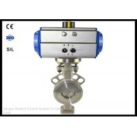 China ANSI Pneumatic Wafer Butterfly Valve Actuator DN50 12-18 Months Warranty wholesale