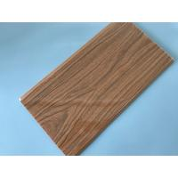 China Anti Corrosion PVC Wood Panels For Interior Decoration 7mm / 7.5mm / 8mm Thickness wholesale