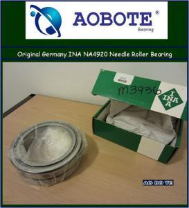 China INA Needle Roller Bearing NA4920 , ABEC-3 Single Row Sealed Bearing wholesale