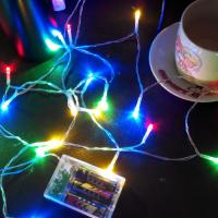 China 2M 20LED 3*AA battery operated christmas lights LED string lights more color good material wholesale