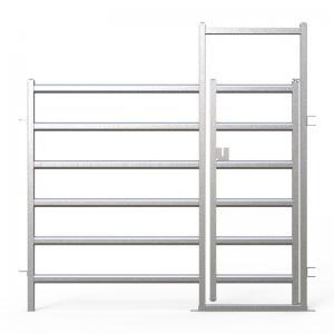 China Heavy Duty 25pcs Bundle Heavy Duty Cattle Corral Panels For Sale & Gate for Au wholesale