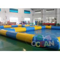 China Rectangular Inflatable Water Toys In Ground Pool Cover For Crazy Water Zorb Ball wholesale
