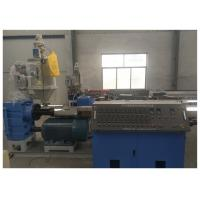 Buy cheap High Speed Plastic Pipe Making Machine PE PPR PERT Cool And Hot Water Pipe Production from wholesalers