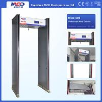 Buy cheap High Sensitivity Walk Through Security Metal Detectors , Security Walk Through Gate 6 Zones from wholesalers