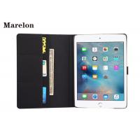 China Flip Foldable Cover Ipad Air 2 Leather Case Microfiber Anti - Dirty Lining wholesale