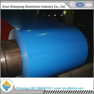 Quality 1060 0.5mm PVDF Prepainted Aluminum Coil for sale