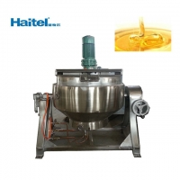 Quality 200L Stainless Steel Steam Jacketed Kettle For Jam And Sugar Cooker for sale