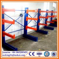 Quality Wholesale Single Side Adjustable Industry Storage Cantilever Rack for sale