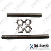 China China Hastelloy C276 high quality stainless steel stud full thread bolt wholesale