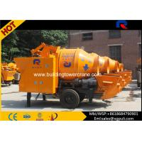China Cement Concrete Mixer Pump Trailer 40m³/H Output For Water Conservancy Construction wholesale