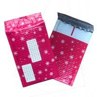 China Christmas Gift Bubble Mailer Envelope , Poly Mailer Bags 100% Recycled Material wholesale