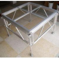 China Glass Acrylic Stage Platform / Folding Aluminum Stage Platform wholesale