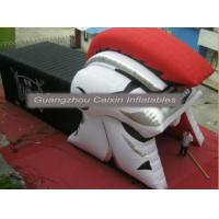 China inflatable mascot knight sport helmet tunnel for sale wholesale