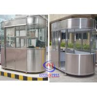 China Outdoor Fibreglass Ticket Security Guard Booths / Mobile guard house wholesale