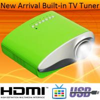 China Best Quality HDMI MHL LED Projector Built In Anlog TV Tuner USB VGA For Home Movie Using on sale