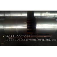 China JIS EN ASTM DIN BS AS Carbon Steel Forged Shaft Rough Machined For Power Plant wholesale