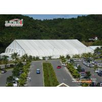 China Large White Military Airplane Tent , TFS Aircraft Tent Portable Rainproof for sale wholesale