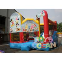 Quality Commercial Inflatable Bouncer Combo With Bounce House And Slide For Kids for sale