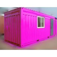China 40 Ft / 20 Ft Old Prefab Container Housefor Storage Red In Steel wholesale