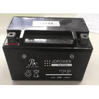 China Deep Cycle Sealed Lead Acid Motorcycle Battery , 9.0AH 12v AGM Motorcycle Battery wholesale