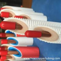 China PE Mild Plastic Coated Insulated Copper Pipe for Large Scale Air Conditioner wholesale