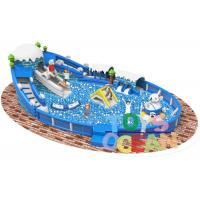 Quality Outdoor Inflatable Playground Funny Inflatable Giant Ocean Ball Pool For Kids for sale