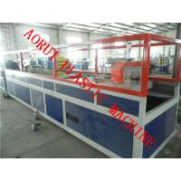 China PVC PE PP Plastic and Wood Foamed WPC Profile Production Line CE ISO9001 wholesale