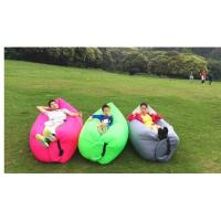 Buy cheap lightweight inflatable lamzac hangout fast inflatable sofa air bed from wholesalers