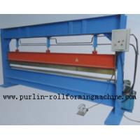 China Slitter Hydraulic Bending Machine with Color Steel Panel , Steel Pipe / Tube Bender wholesale
