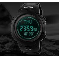 China 2017 SKMEI Outdoor Sports Compass Watches Hiking Men  Digital LED Watch Man Sports Watches Chronograph Watch   1231 wholesale