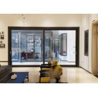 China 5mm Black Aluminium Doors And Windows / Exterior Aluminum Entry Doors Commercial wholesale
