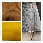 China Animal fur in 2CM 4CM eyelash super soft machine knitting animal fur yarn wholesale