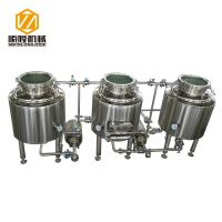 China Home / Pilot Beer Distillery Equipment 100 Liter With Electrical Heating wholesale