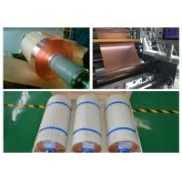 China RoHS Soft Copper Sheet Roll , 100 - 5000kg / Roll Copper Foil Sheet Roll wholesale