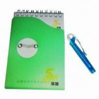 China Notepad, Made of Paper and Soft Magnet, Customized Designs are Accepted wholesale