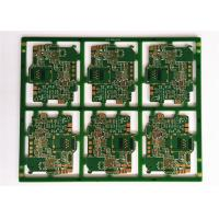 Buy cheap Green Soldermask White Silkscreen FR4 Multilayer PCB with Immersion Gold from wholesalers