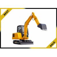 China 25.2kw 4.2 Tonne Construction Equipment Excavator Easy Transporation Extendable Chassi wholesale