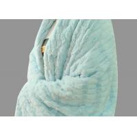 China Green Soft Personalised Adult Blanket Waterproof For Women 200-400gsm on sale