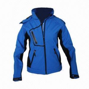China Waterproof Women's Softshell Jacket, Windbreaker, Fashionable Design wholesale