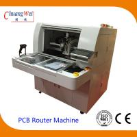 China High Resolution CCD and Camera TAB PCB Separator Machine PCB Router wholesale