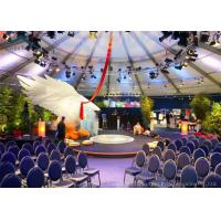 China Aluminum Commercial  Party Tent  Wind - Resistant With Beautiful Decoration wholesale
