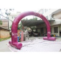China Outside Inflatable Entrance Arch  / Inflatable Welcome Arch Door Easy Assembly wholesale
