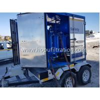 Buy cheap Mobile Trailer Mounted Vacuum Transformer Oil Purifier/Insulation Oil Filtration from wholesalers