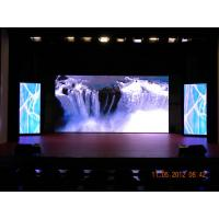 China 1R1G1B P10 Indoor Advertising LED Display 1200cd / ㎡ , Commercial LED Display 50Hz wholesale