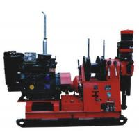 Buy cheap 300m Hydrolic Chuck Spindle Mining Geological Core Drilling Machine from wholesalers