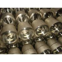 China Custom Forged Stainless Steel Pipe Fittings Reducer / Cap Ends / Nipple / Coupling, Union on sale